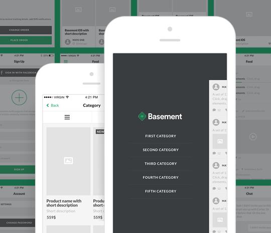 Basement iOS