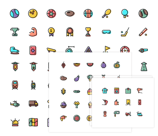 Thousands Free Icons