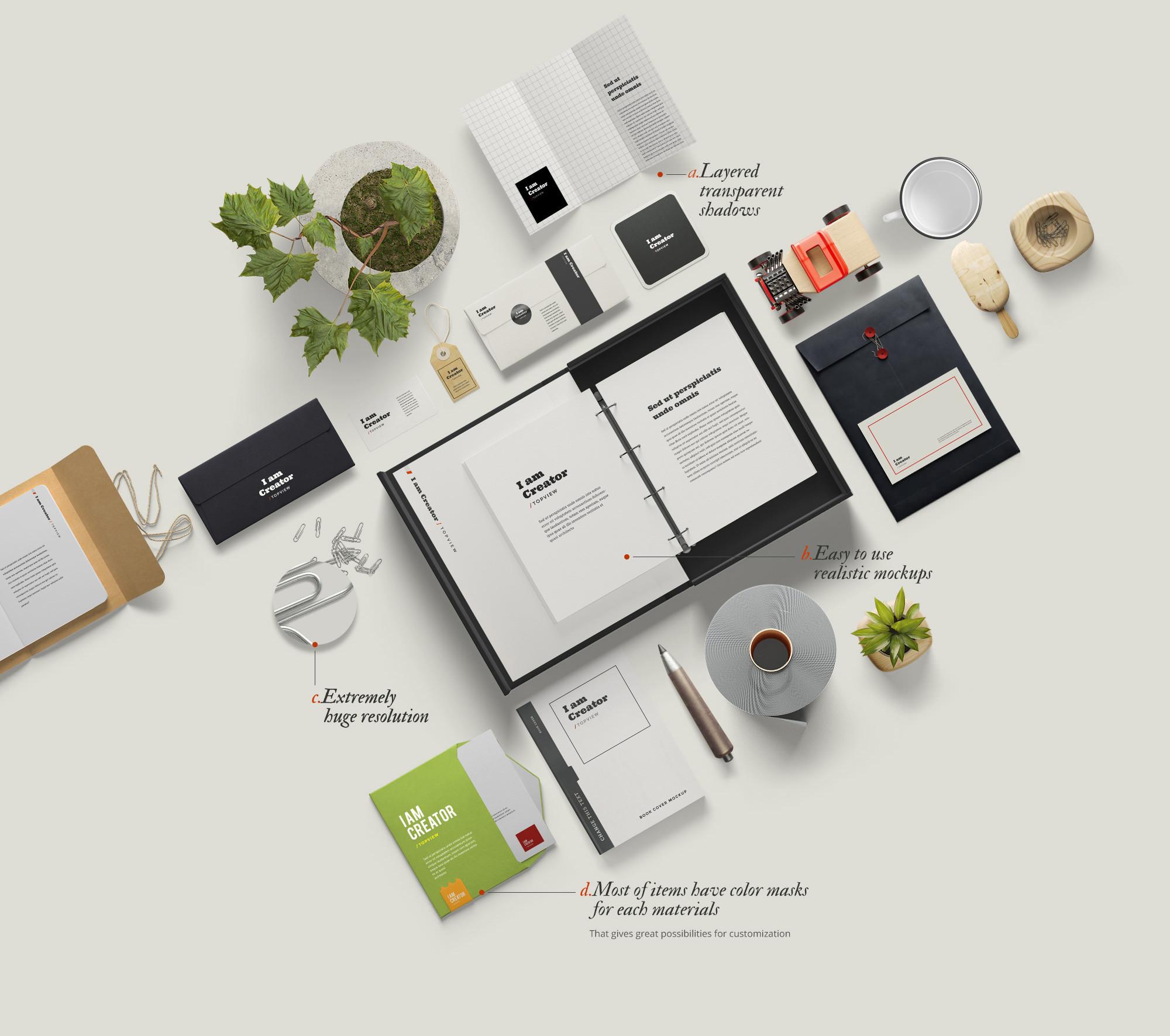 I am Creator: Mockup Scene Generator - Designmodo Market