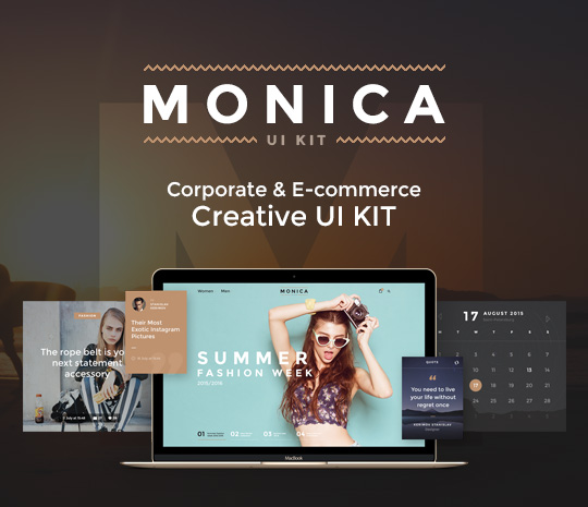 Monica UI Kit