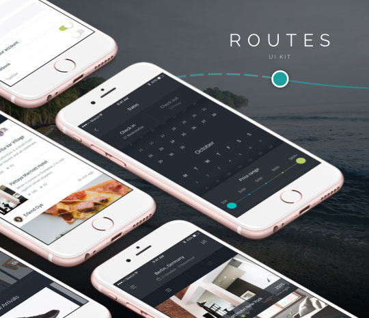 Routes UI Kit