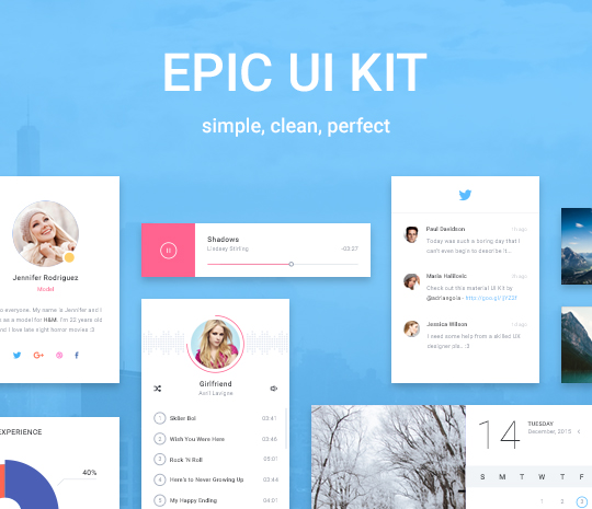 Epic UI Kit
