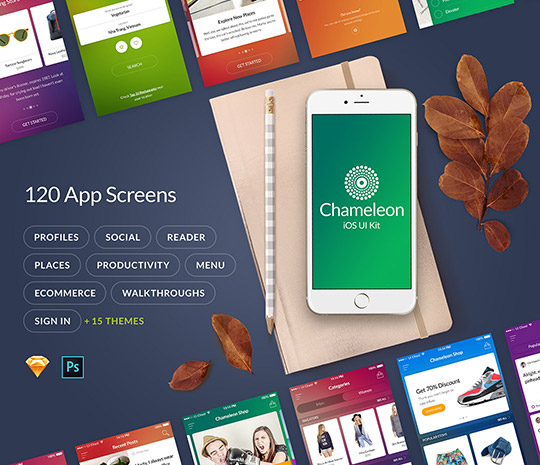 Chameleon – iOS UI Kit
