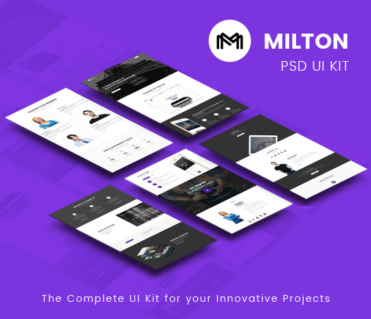 Milton – Web UI Kit