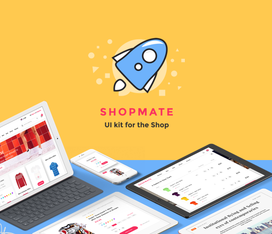 Shopmate – UI Kit for eCommerce