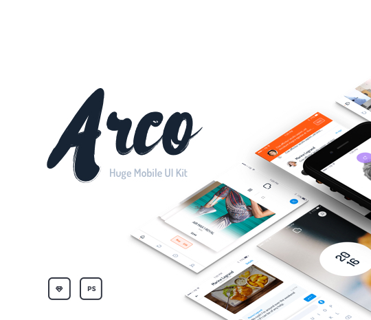 Arco – Mobile UI Kit