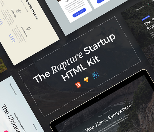 The Rapture HTML Kit