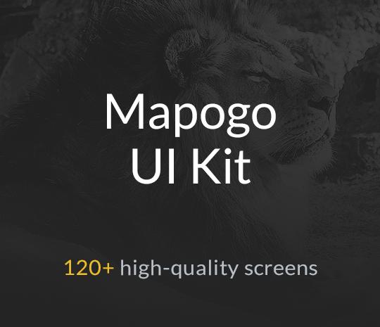 Mapogo UI Kit