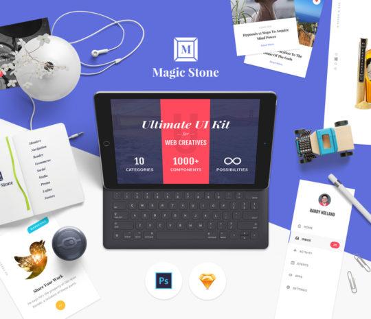 Magic Stone UI Kit
