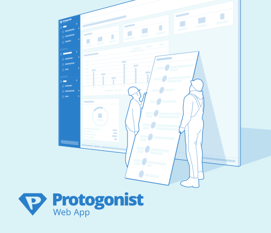 Protogonist Wireframe Kit