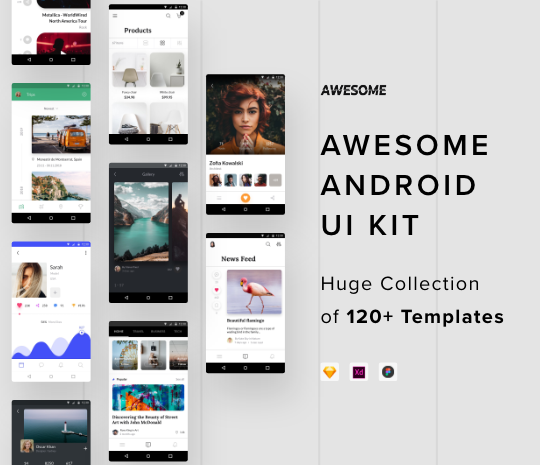 Free and Premium UI Kits for Websites and Apps - Designmodo Market