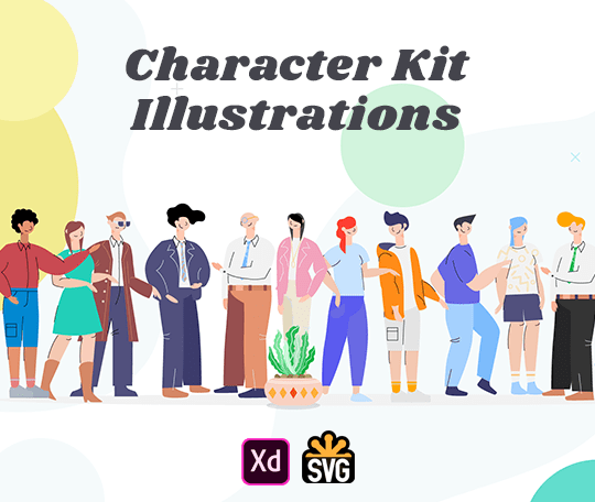 Character Kit Illustrations