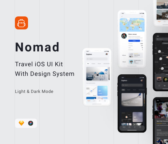 Nomad iOS UI Kit - Designmodo Market