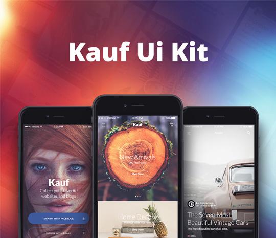 Kauf UI Kit