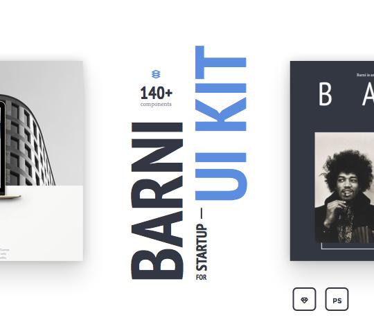 Barni-for-Startup UI Kit