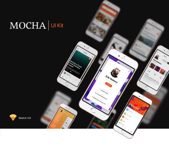 Mocha Mobile UI Kit
