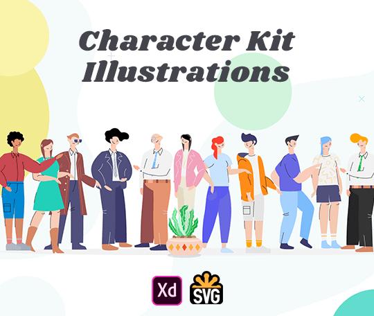 Character Kit Illustrations